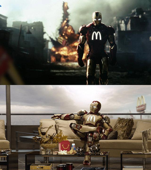 Iron Man Mcdonalds