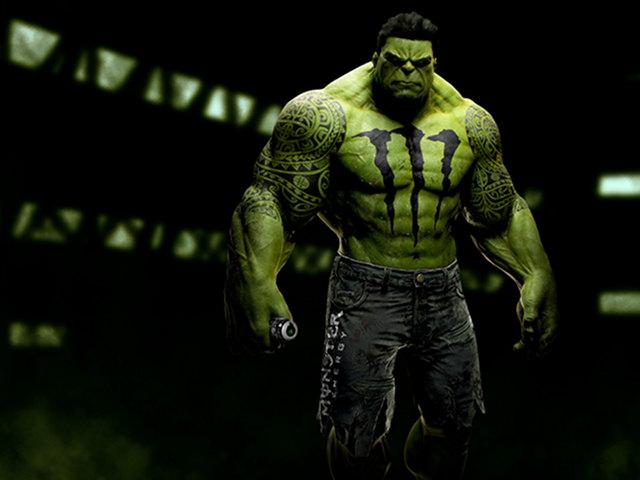 Sponsored Superheroes: Hulk Monster