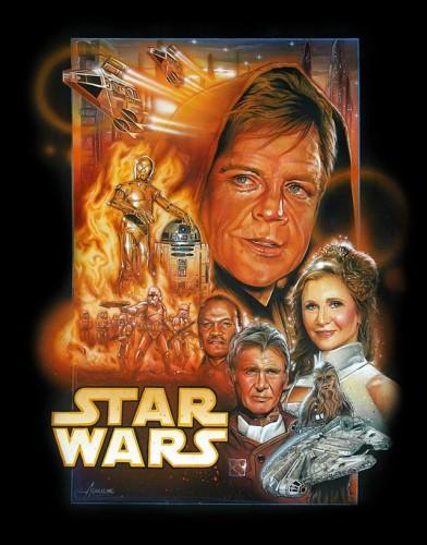 Star Wars Aged Cast