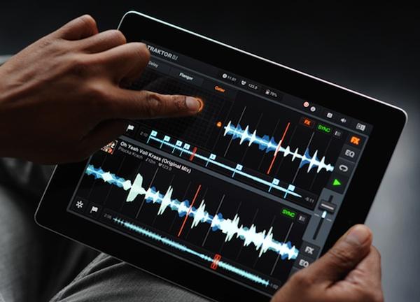 Traktor DJ iPad App