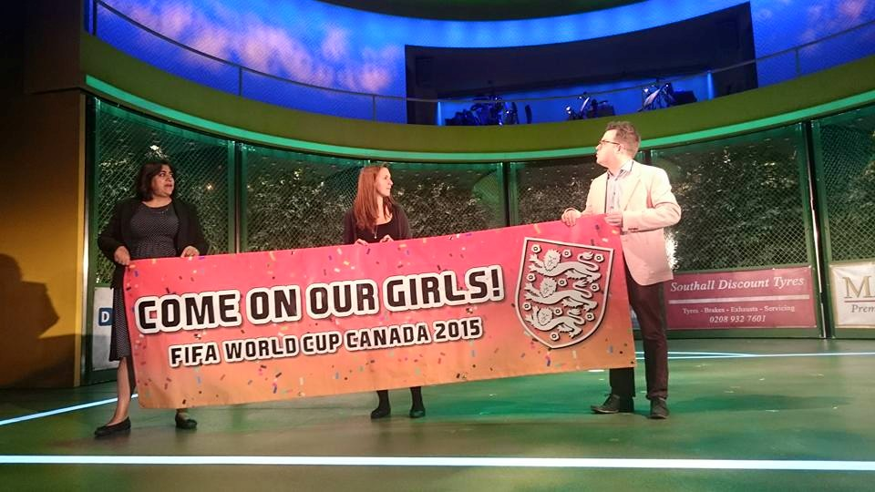 Come on Our Girls Team England