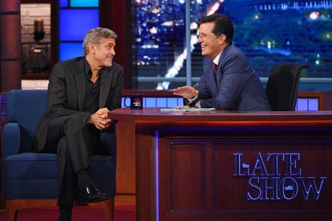 Colbet & Clooney
