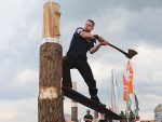 Timbersports Becoming More Popular